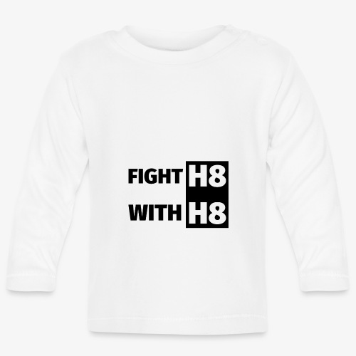 FIGHTH8 dark - Baby Long Sleeve T-Shirt