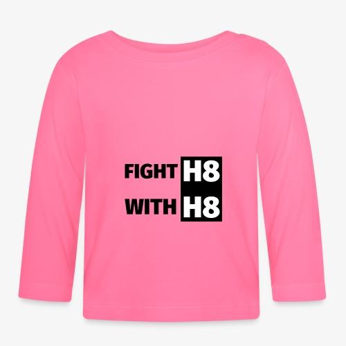 FIGHTH8 dark - Baby Long Sleeve T-Shirt