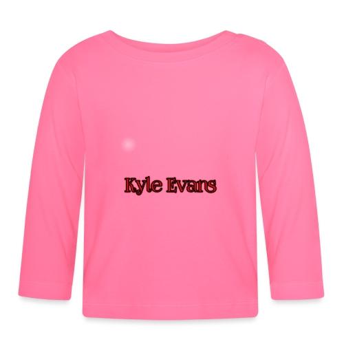 KYLE EVANS TEXT T-SHIRT - Baby Long Sleeve T-Shirt