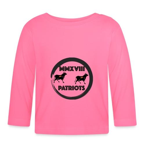 Patriots mmxviii - Camiseta manga larga bebé