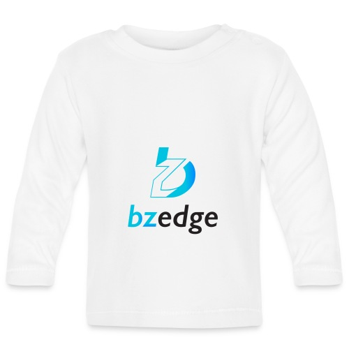 BZEdge Cutting Edge Crypto - Baby Long Sleeve T-Shirt