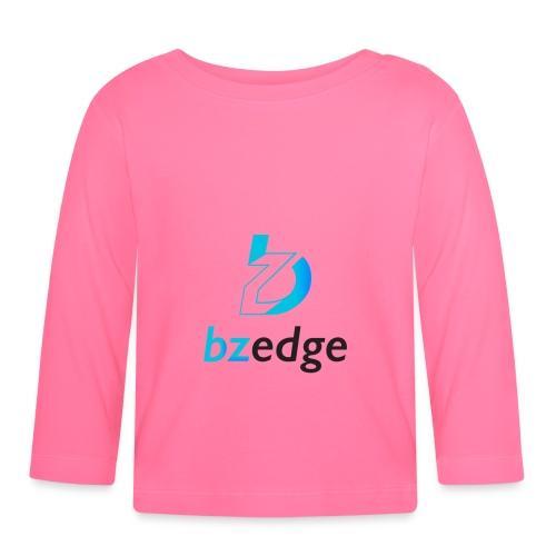 BZEdge Cutting Edge Crypto - Baby Long Sleeve T-Shirt