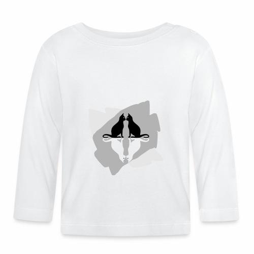 4 Cats / 4 Chats - Baby Long Sleeve T-Shirt