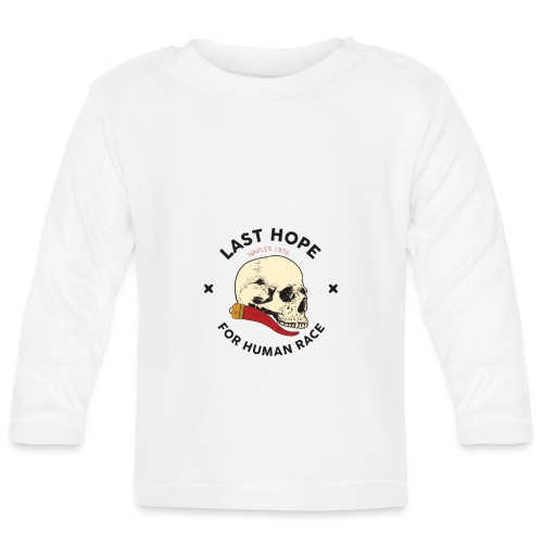 Skull and Red Horn - Maglietta a manica lunga per bambini