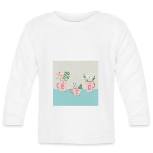 fleurs d'été - Maglietta a manica lunga per bambini