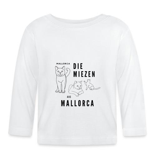 Die Miezen aus Mallorca - die süßen Katzen - Cat - Baby Langarmshirt