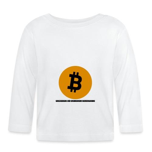 Bitcoin powered by Satoshi Nakamoto - Baby Langarmshirt