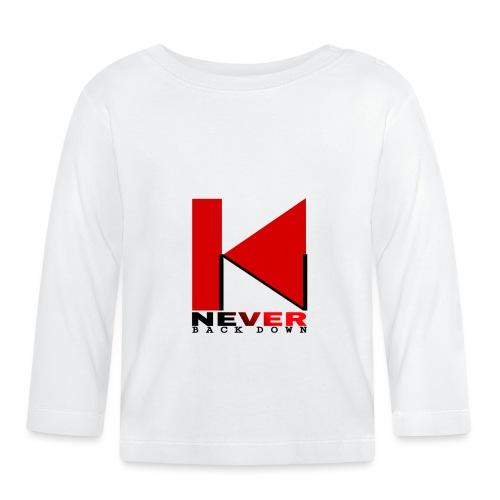 NEVER BACK DOWN - T-shirt manches longues Bébé