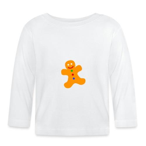Gingerbread Man - Baby Long Sleeve T-Shirt