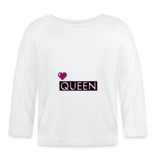 Queen, la regina - Maglietta a manica lunga per bambini