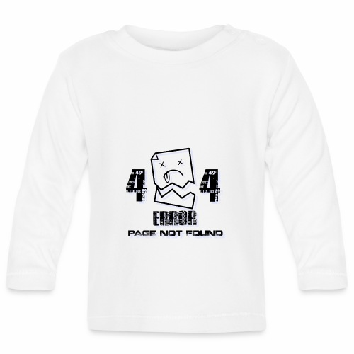 ERROR PAGE NOT FOUND - T-shirt manches longues Bébé