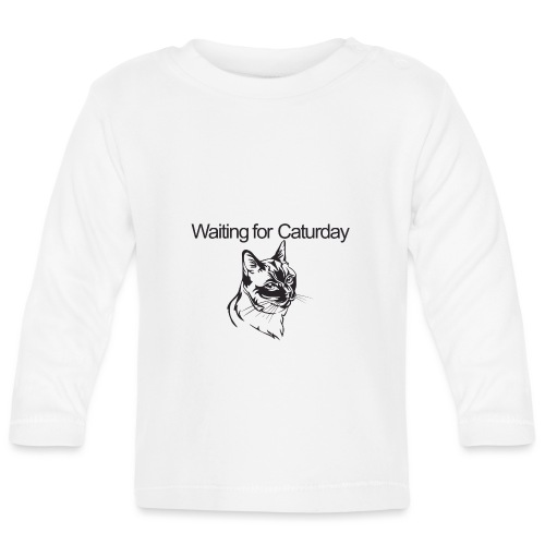 Caturday - Baby Long Sleeve T-Shirt
