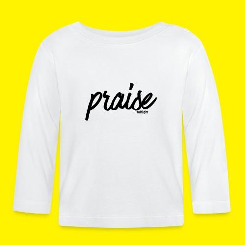 Praise (BLACK) - Baby Long Sleeve T-Shirt