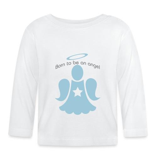 Born to be an angel étoile - Baby Long Sleeve T-Shirt