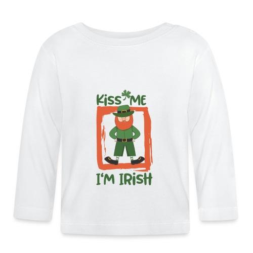 Kiss me - I'm Irish: St. Patrick's Day - Baby Long Sleeve T-Shirt