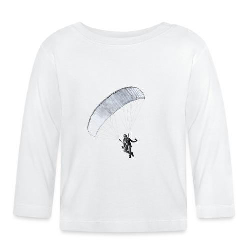 Paragleiter Bleistift - Baby Langarmshirt