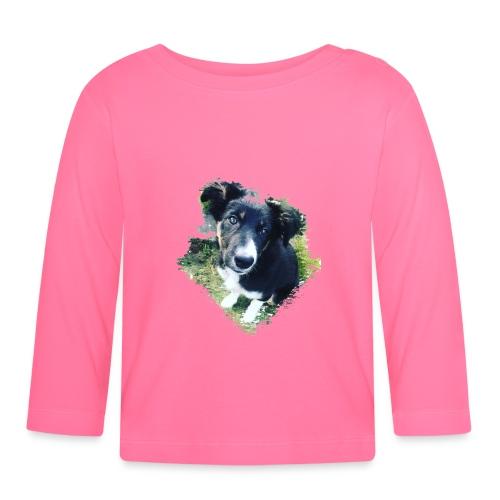 colliegermanshepherdpup - Baby Long Sleeve T-Shirt