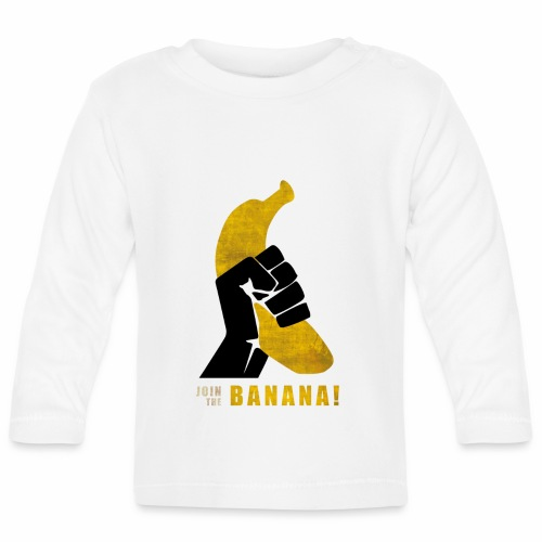 Join the Banana - T-shirt manches longues Bébé