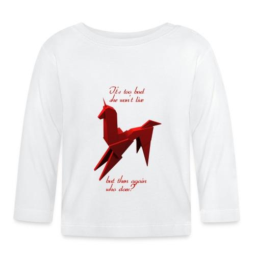 UnicornioBR2 - Camiseta manga larga bebé