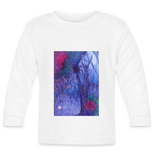 Forest Flower - Koszulka niemowlęca z długim rękawem