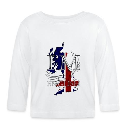 I am English - Maglietta a manica lunga per bambini