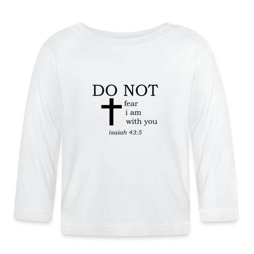 'DO NOT' t-shirt - Baby Long Sleeve T-Shirt