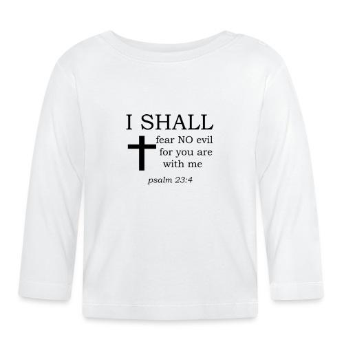 'I SHALL' t-shirt - Baby Long Sleeve T-Shirt