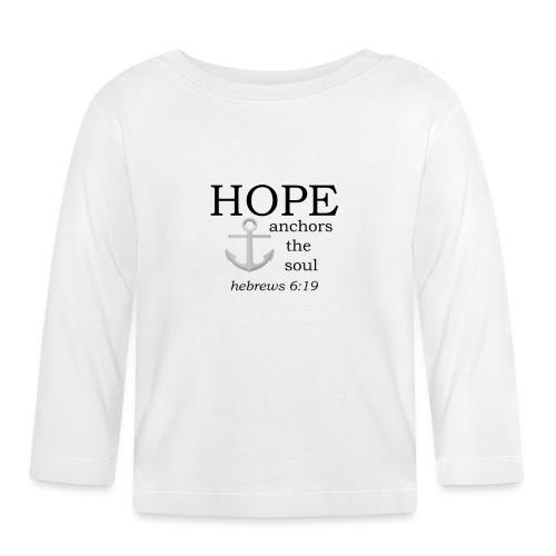 'HOPE' t-shirt - Baby Long Sleeve T-Shirt