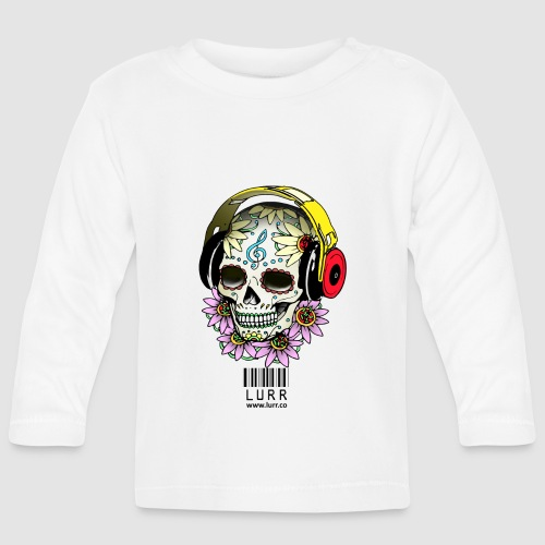smiling_skull - Baby Long Sleeve T-Shirt