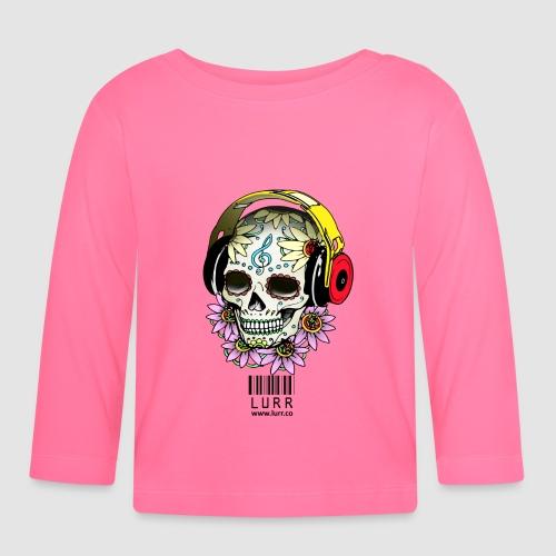 smiling_skull - Baby Long Sleeve T-Shirt
