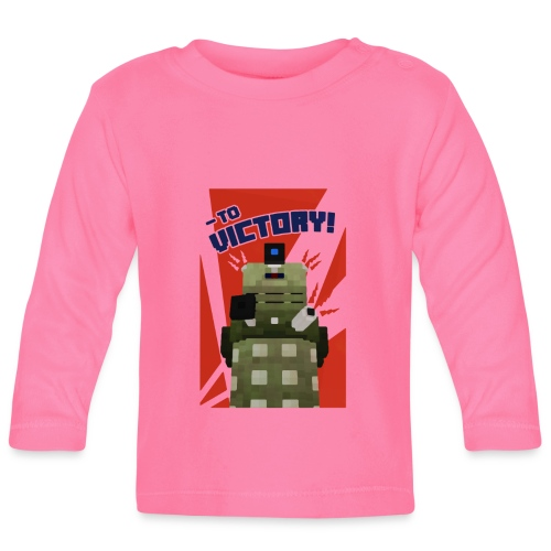 Dalek Mod - To Victory - Baby Long Sleeve T-Shirt