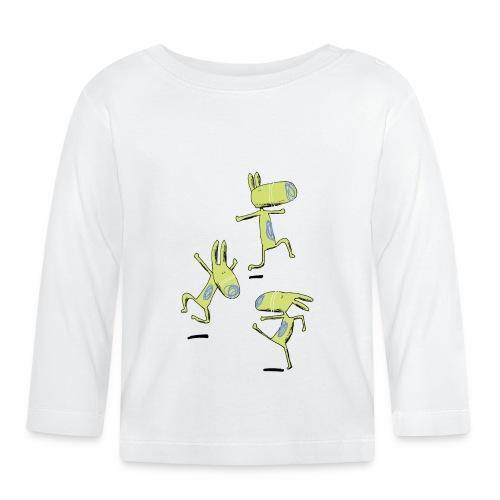 springende dieren / jumping animals - T-shirt