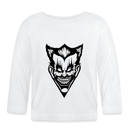 Horror Face - Baby Langarmshirt