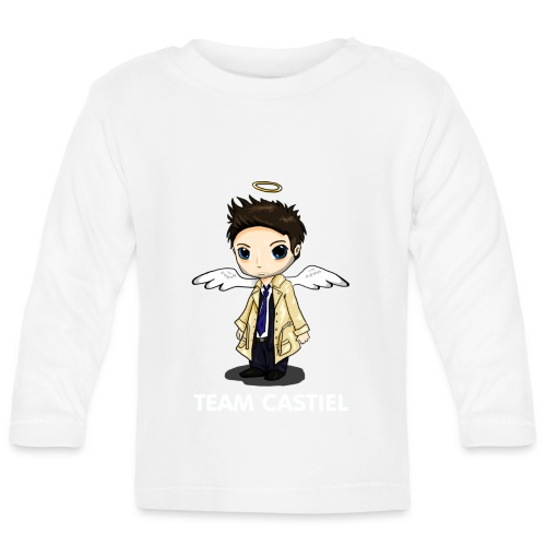 Team Castiel (dark) - Baby Long Sleeve T-Shirt