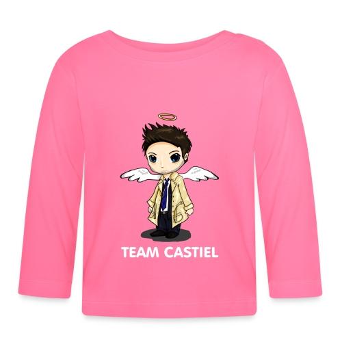 Team Castiel (dark) - Baby Long Sleeve T-Shirt