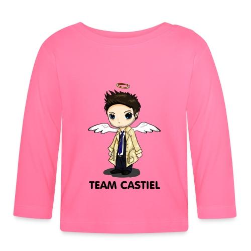 Team Castiel (light) - Baby Long Sleeve T-Shirt