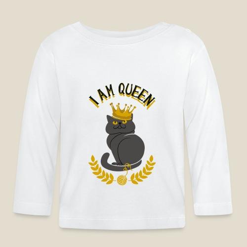 I am Queen - T-shirt manches longues Bébé