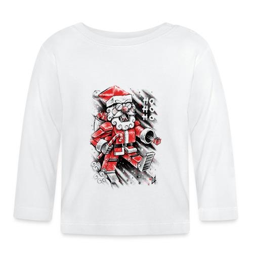 Robot Santa Claus - Baby Long Sleeve T-Shirt