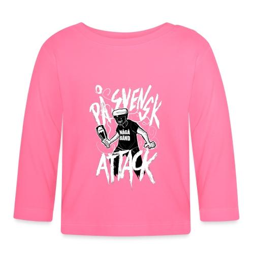 På Svenska Tack - Baby Long Sleeve T-Shirt