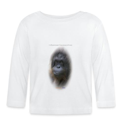 Orang outan - T-shirt manches longues Bébé