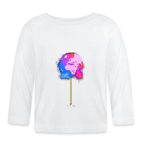 TShirt lollipop world - T-shirt manches longues Bébé