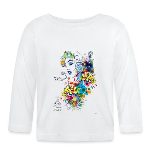 Lady singer -by- T-shirt chic et choc - T-shirt manches longues Bébé