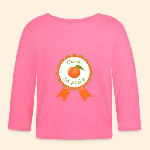 Récompense garde la pêche sur coussin - T-shirt manches longues Bébé