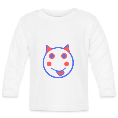 Red White And Blue - Alf Da Cat - Baby Long Sleeve T-Shirt