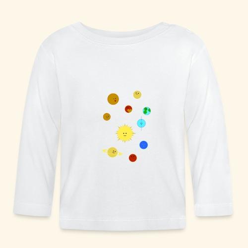 Solsystemet - Långärmad T-shirt baby