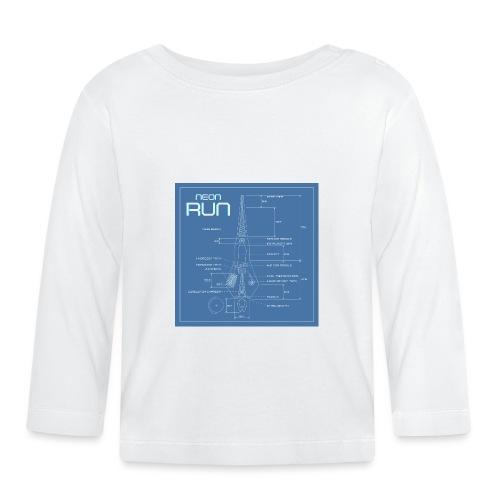 NeonRun blueprint - T-shirt