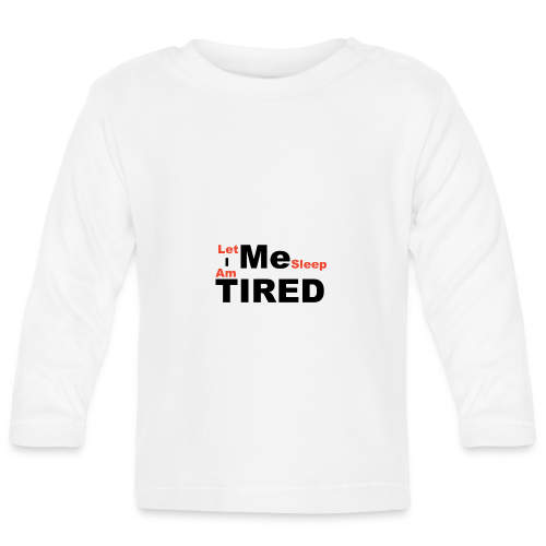 Let Me Sleep. - T-shirt