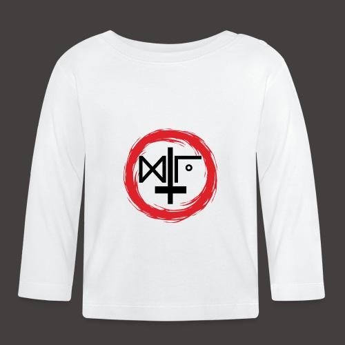 Logo Gu Croix Noir - T-shirt manches longues Bébé