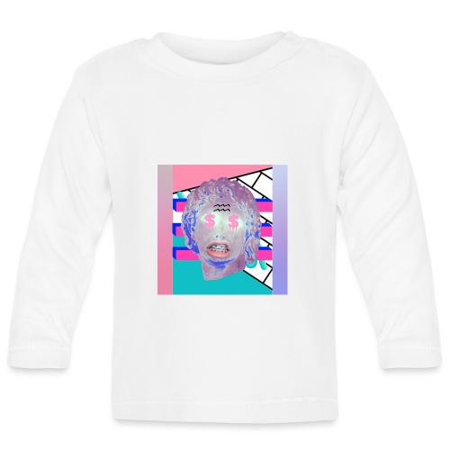 La playera del capitalismo moderno - Camiseta manga larga bebé
