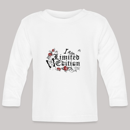 simply wild limited Edition on white - Baby Langarmshirt